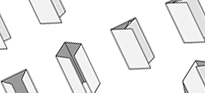 Drawings of different types of leaflet folds