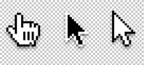 3 different types of cursors