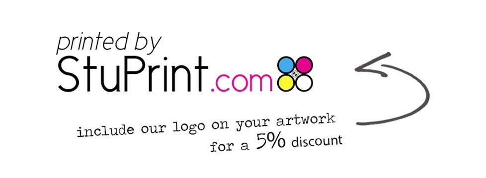 Add a stuprint.com logo for a 5% discount