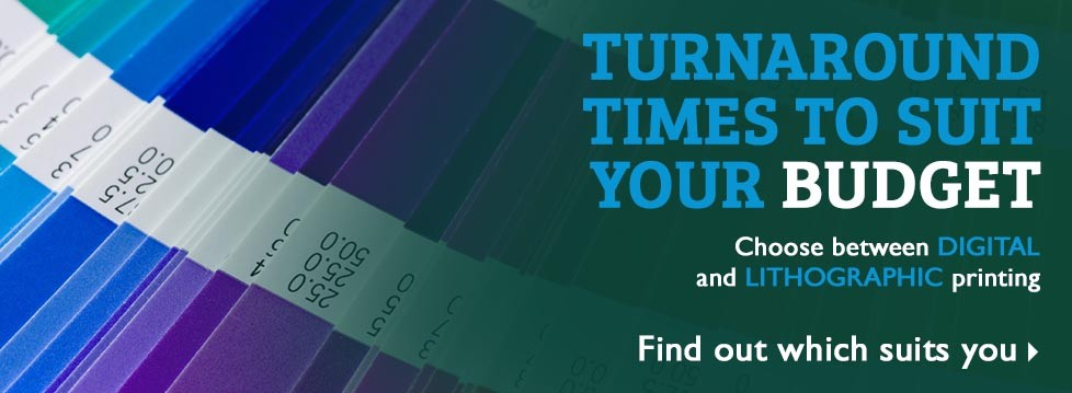 Turnaround times to suit any print budget with StuPrint.com