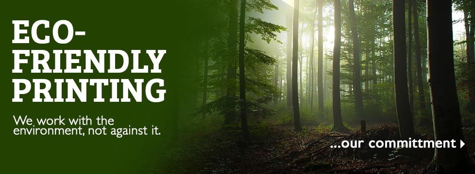 StuPrint, London is proud to be an environmentally friendly printer. FSC certified paper and vegetable oil based inks