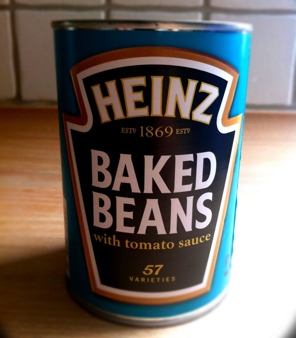 branding: baked beans logo zoomed out